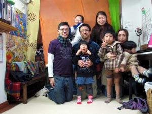 Two of the families whom I taught at Kotoba no Hiroba