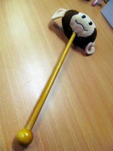 Wu Kong Magic Stick cum Back Message Pounder
