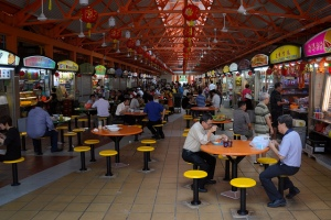 Maxwell Road Hawker Centre by Aapo Haapanen